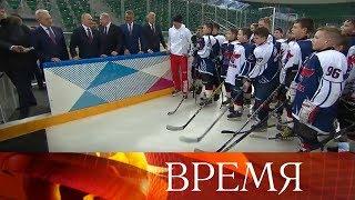 Владимир Путин посетил в Красноярске объекты, построенные к Универсиаде-2019.