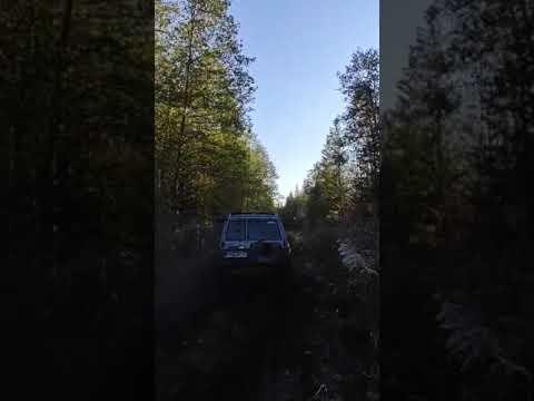 """Patrol y60 2.8l on y61 axles and 38.5"""" Mud Trepador"""