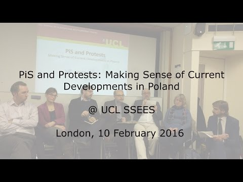 2016.02.10 PiS and Protests: Making Sense of Current Developments in Poland