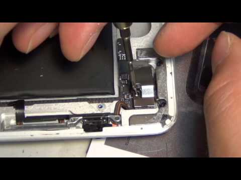 iPad 2 volume power on and off button ribbon cable replacement repair CyberDocLLC