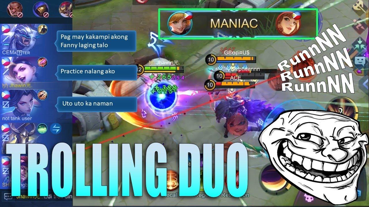 Puro Kalokohan Kami ni Johnson ng Pinas 😂 | Fanny EZ maniac | Mobile Legends: Bang Bang