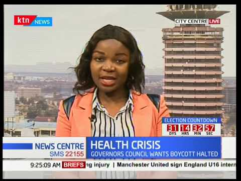 Ministry of Labour and Council of Governors hold meetings to prevent strike by clinical officers