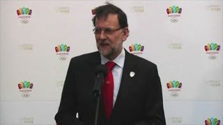 Madrid 2020 Olympic Games bid backed by Spanish Prime Minister Mariano Rajoy