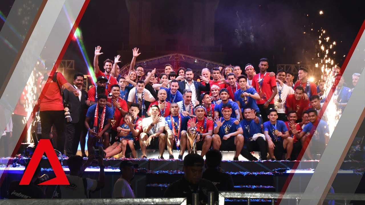 Football: Johor Darul Ta'zim celebrate 5th consecutive league win in style