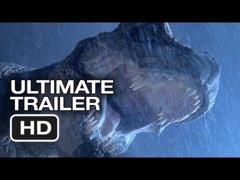 Jurassic Park 3D Ultimate Trailer - Steven Spielberg Classic HD Movie