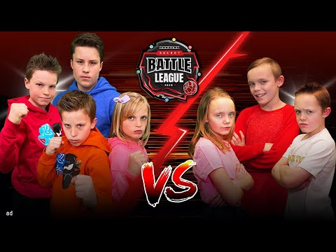 Secret Bakugan Battle! Ninja Kidz Vs Superhero Kids, Kids Fun Tv, & ZZ Kids.
