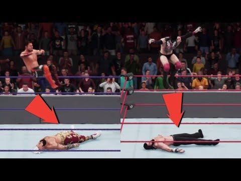 WWE 2K18 - UPDATED New Finisher Animations For Akira Tozawa & Finn Balor!