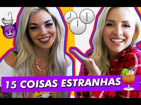 Clara Aguilar: 15 coisas estranhas sobre mim Ft Mayra Dias Gomes