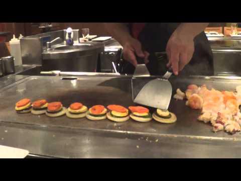 Teppanyaki on NCL Pearl, December 2014 with Chef Romel Bernal