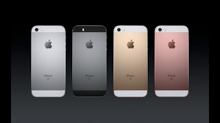 Apple iPhone SE Official Introduction Keynote | 21.March.2016
