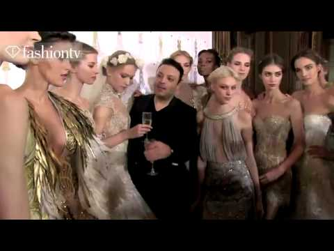 Zuhair Murad Couture SpringSummer 2013 Behind The Scenes _ Paris Couture Fashion Week _ FashionTV -