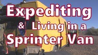 Working as an Expediter In a Sprinter Van