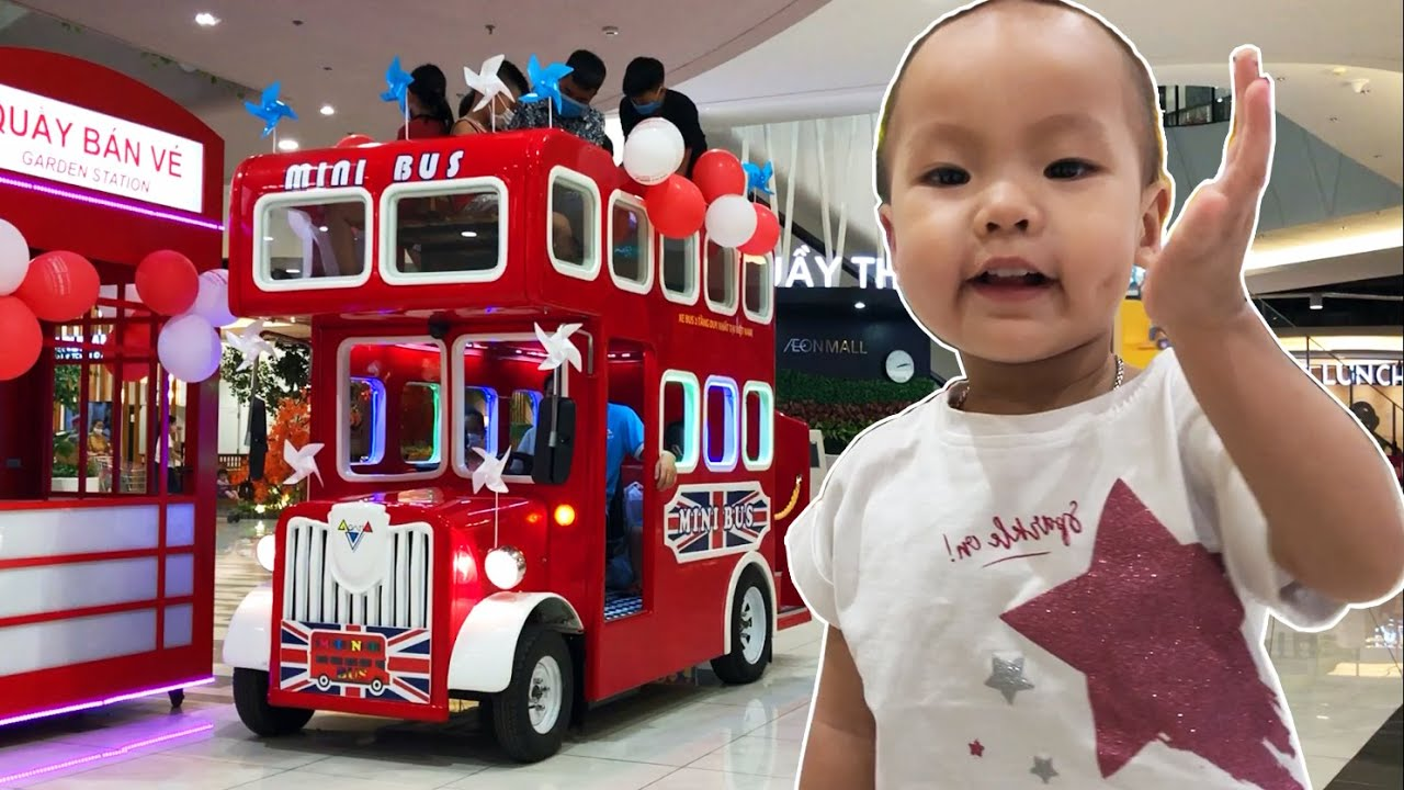 Discover the Bus ❤️ The Wheels on the Bus Song ❤️ Nursery Rhymes ❤️ Hami Real-life Toy Review