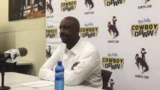Wyoming coach Allen Edwards discusses Utah State loss, being 'tired of excuses'