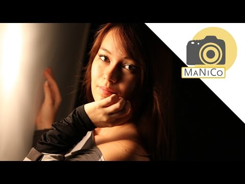 Video tutorial fotografico: esecuzione di foto di ritratto con luce morbida glamour