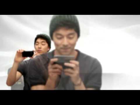 Gong Yoo and LG Optimus.