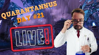 WHICH CHARACTER SHOULD I PLAY?! - Quarantannus Day #21 - World of Warcraft Livestream
