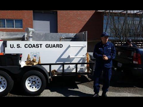 USCG Advanced Damage Control Training Trailer