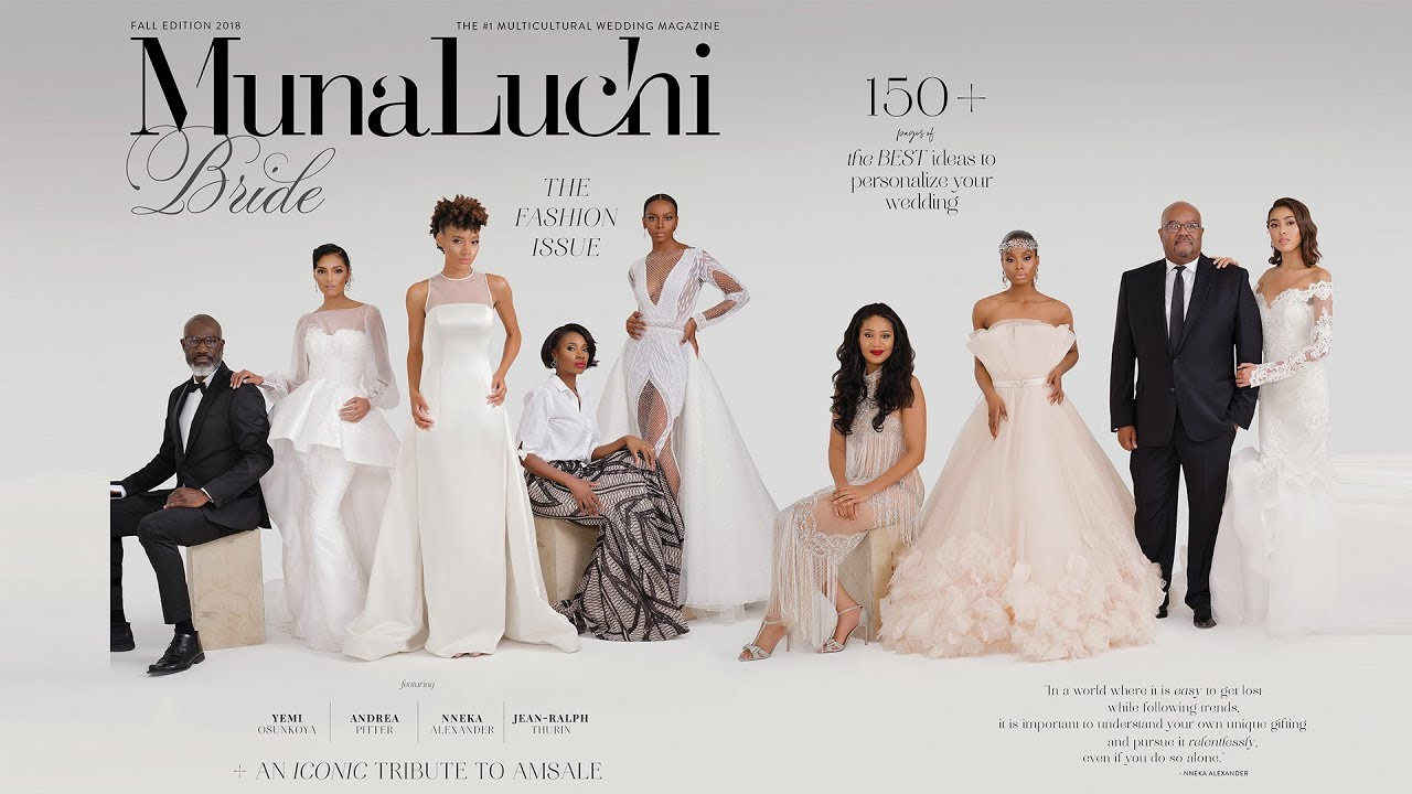 Quiet Impact A Tribute To Amsale Aberra Munaluchi Bridal Magazine Fall 2018 Issue Youtube
