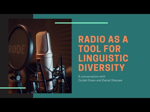 Radio in Language Diversity | Conversations from Jamaica and Zambia | Wikitongues