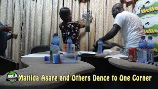 Matilda Asare and other stars Dance to one Corner