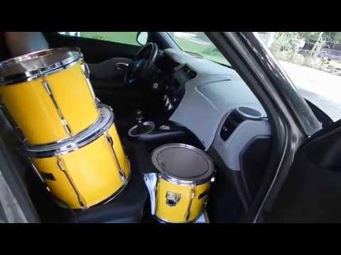 Road Trip Pearl Export Drum Set 60 Yellow Flash Kit Youtube