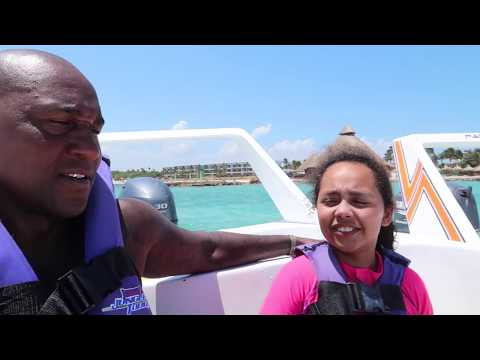 SWIMMING IN SHARK WATERS! We Have 2 Speed Boats - Family Fun Video For Kids