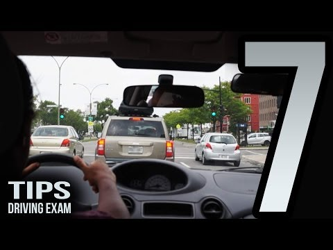 7 tips for the driving exam