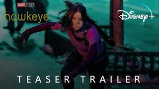Hawkeye (2022)   FIRST LOOK CONCEPT TRAILER - Jeremy Renner, Hailee Steinfeld, Florence Pugh