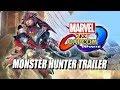 MONSTER HUNTER TRAILER: Marvel Vs. Capcom Infinite