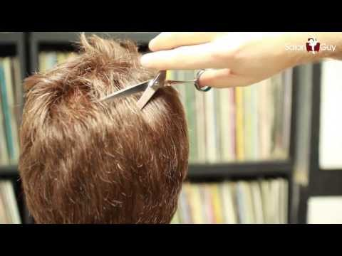 how to use hair thinning scissors video