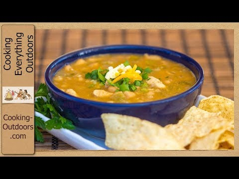 Dutch oven White Chicken Chili Recipe