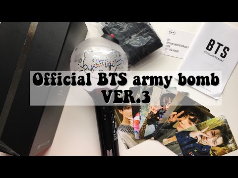 Unboxing Official Army Bomb Ver.3+ decal  *:・゚✧*:・゚✧