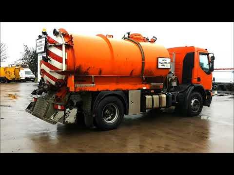 111 2008 Volvo fuller suck and blow vacuum tanker