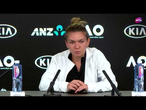 2018 Australian Open press conference: Simona Halep on winning 15-13 in third set over Lauren Davis