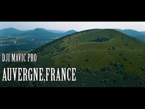 DJI MAVIC PRO - AUVERGNE (4K)