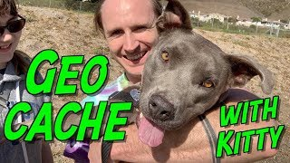 Ep 37 Geocaching with Kitty