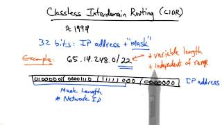Classless Interdomain Routing - Georgia Tech - Network Implementation