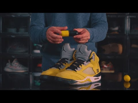 HOW TO STORE YOUR GRAILS Feat AIR JORDAN 5 TOKYO - Crep Protect