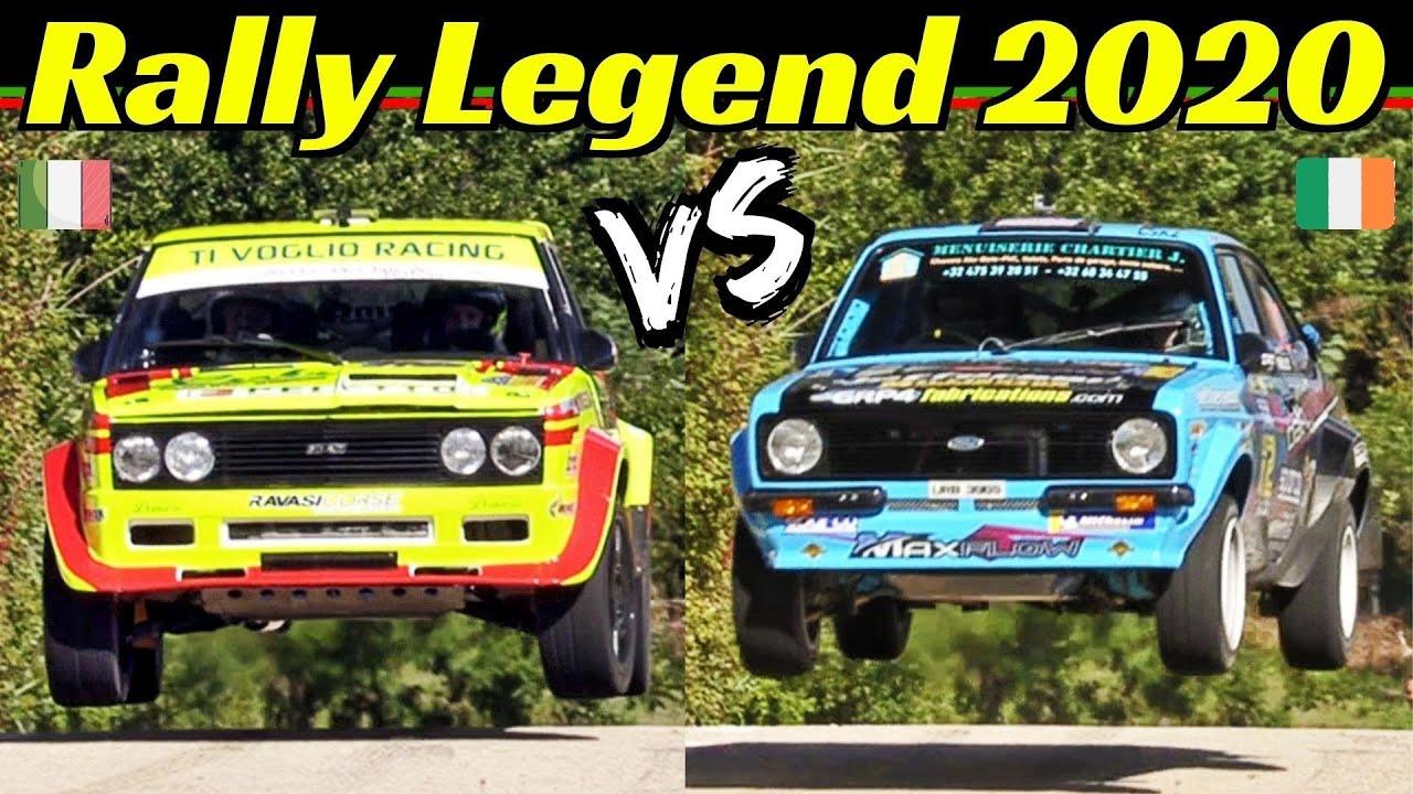 Paolo Diana vs Frank Kelly - Rally Legend 2020 San Marino - Virtual Comparison + Split-Screen Show!