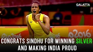 Congrats Sindhu For Winning Silver & Making India Proud | Galatta Tamil
