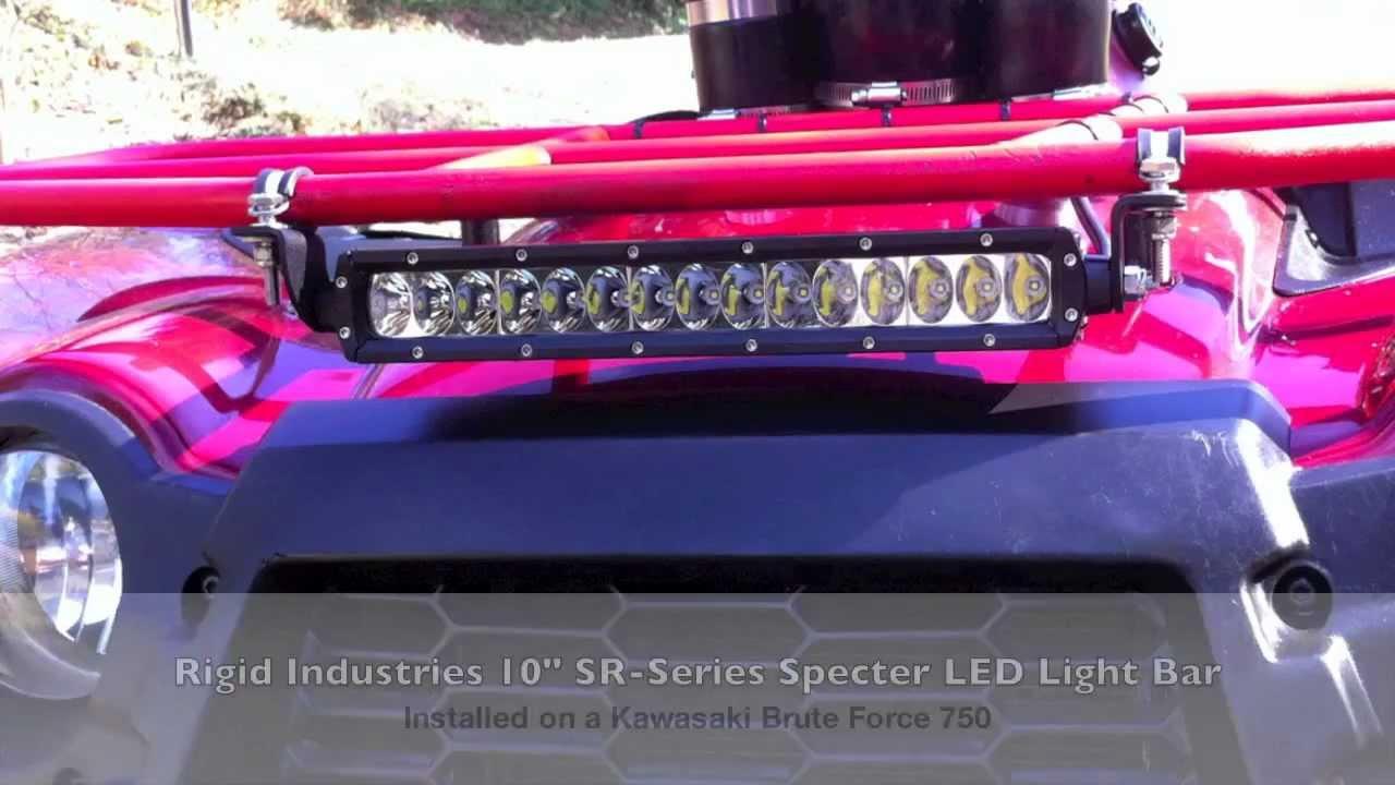 Rigid industries sr 10 specter led bar youtube rigid industries sr 10 specter led bar mozeypictures Gallery