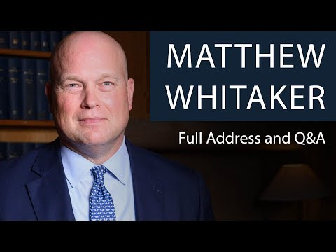 matthew-whitaker-|-full-address-and-q&a-|-oxford-union