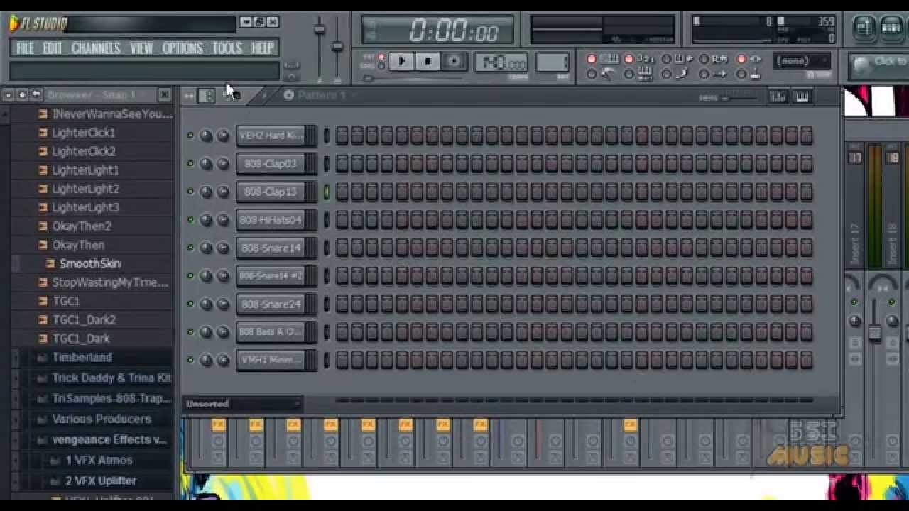 Fruity Loops FL Studio 10 - Learning the Interface ...