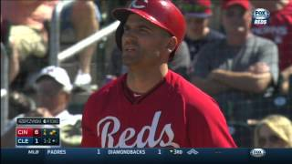 MLB: CIN AT CLE - March 26, 2015