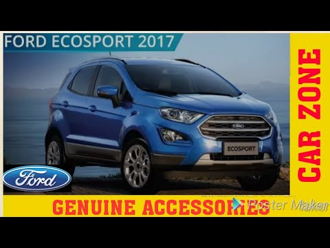 Ford Ecosport  Accessories New Ecosport Complete Accessories Detail