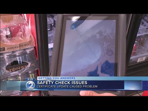 Safety check issues