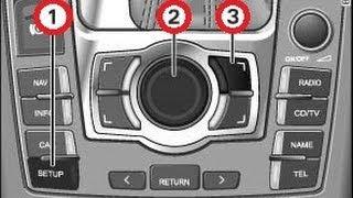 MMI Reset / Neustart  Audi  ( A3 A4 A5 A6 A7 Q3 Q5 Q7 ) Affengriff