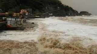 Mare di fango a Monterosso - allerta meteo