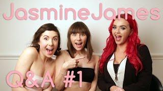 Jasmine James Q&A! - Porn Star Curious Part 1/2
